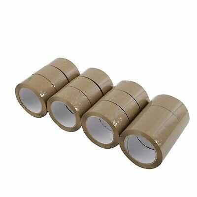 12 Rolls Carton Sealing Brown Packingshippingbox Tape- 2.5 Mil- 2 X 110 Yards