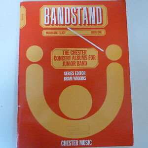 SCORE Bandstand Book 1, mod easy, chester concert albums junior bands, B Wiggins