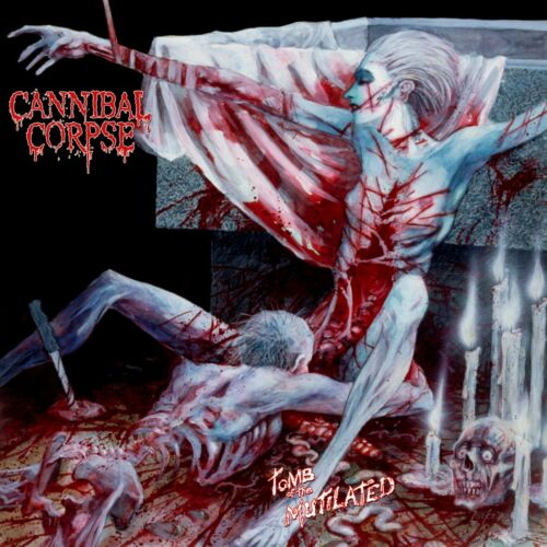CANNIBAL CORPSE Tomb of the Mutilated BANNER HUGE 4X4 Ft Fabric Poster Flag art