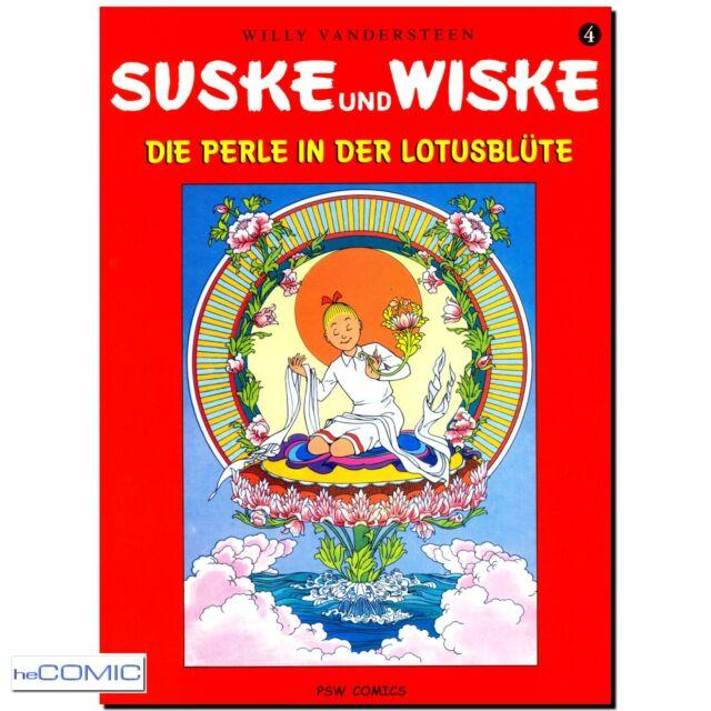 Suske und Wiske 4 die Perle in der Lotusblüte VANDERSTEEN Funny ABENTEUER COMIC