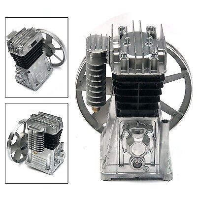 3hp Piston Cylinder Oil Lubricated Air Compressor Pump Head 250lmin Usa Ship