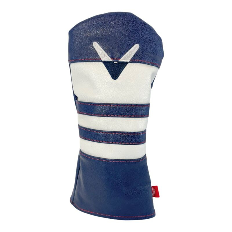 Callaway Vintage Fairway Wood Headcover BLUE/WHITE - NEW with Tags SHIPS FREE