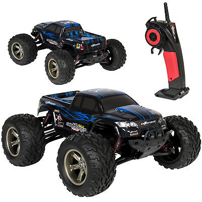(1/12 Scale 2.4GHZ Remote Control Truck Electric RC Car High Speed Monster Black)