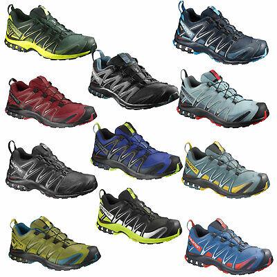 Salomon Xa Pro 3D Goretex GTX Gore Tex Zapatos de Hombre Correr Senderismo Nuevo