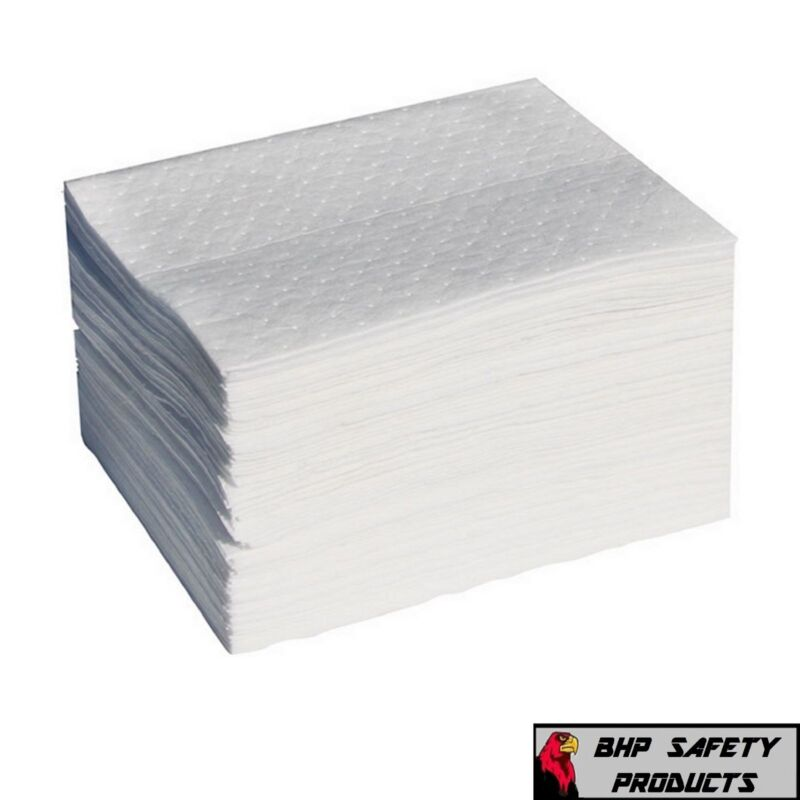 Oil Only ABSORBENT PADS BP200 - Light Weight Sheets 200 Count *FREE SHIPPING*
