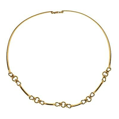 Gucci Vintage Gold Link Necklace