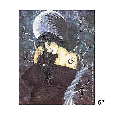 STICKER - Jessica Galbreth Fairy Moon Crow Enchantment SD47
