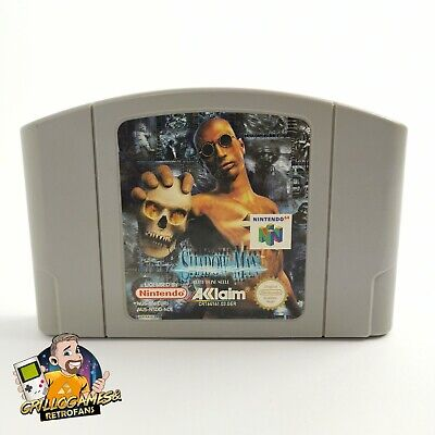 """Nintendo 64 Spiel """" Shadow Man Rette deine Seele """" N64   Modul Cartridge   NOE"""