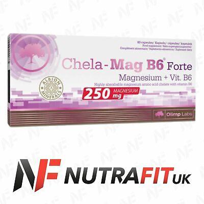 OLIMP CHELA-MAG B6 FORTE magnesium vitamin B6 60 mega caps