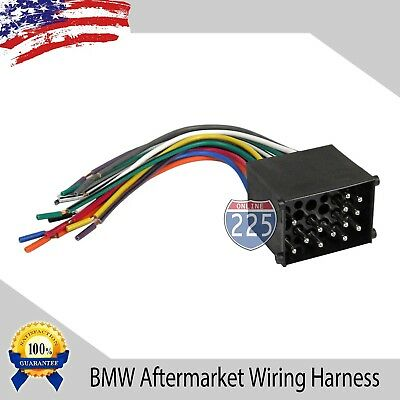 BMW Car Stereo CD Player Wiring Harness for Aftermarket Radio Select -