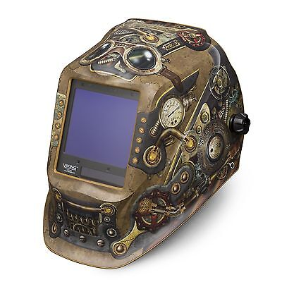 Lincoln Viking 3350 Series Steampunk Auto Darkening Welding Helmet K3428-3