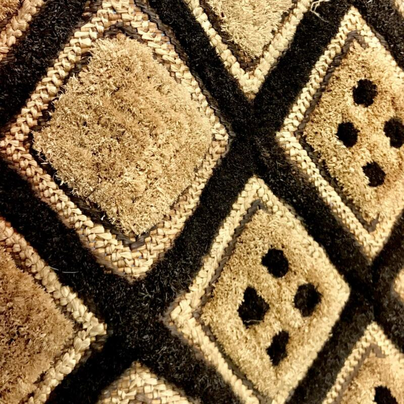 FindngsRedefined Kuba Cloth Zaire DRC Congo African Textile