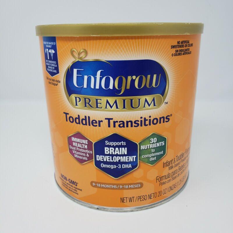 Enfagrow Premium Infant & Toddler Transitions Powder Formula 20 oz. Exp: 03/2022