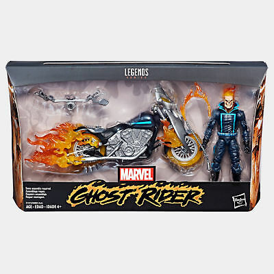 Marvel Legends 6  Ultimate Ghost Rider   Deluxe Motorcycle Wave 1 New In Stock