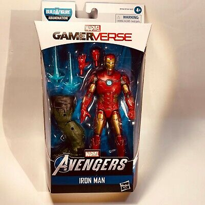 Marvel Legends Avengers Game IRON MAN 6in Figure BAF Abomination IN STOCK