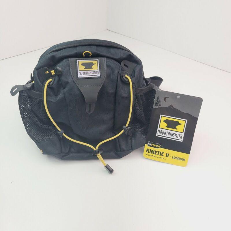MOUNTAINSMITH KINETIC II FANNYPACK BLACK WAIST LUMBAR PACK BAG