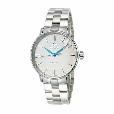 Rado Women's Coupole Classic R22862043 31.8mm Silver Dial Steel Automatic Watch
