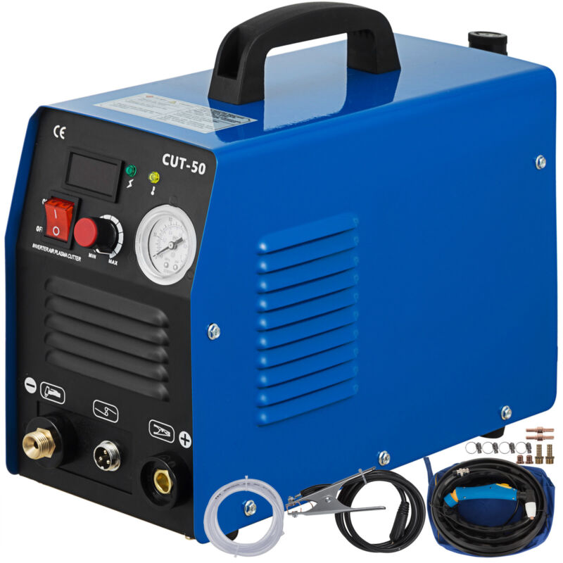 CUT-50, 50 Amp Plasma Cutter Digital Inverter Plasma Cutting Machine 110V/230V