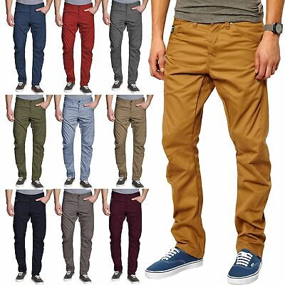 New Mens Jack & Jones Dale Colin Twisted Slim Relaxed Chino Jeans Work Trousers