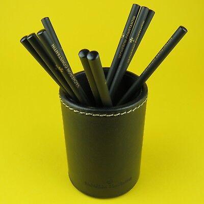 Vacheron Constantin PEN HOLDER Black Leather And 10 Pencils BEST QUALITY (Best Leather Pen Holder)