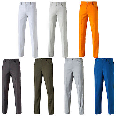 Puma Mens 6 Pocket DryCELL Performance Tech Trousers Long Golf Straight Leg Pant