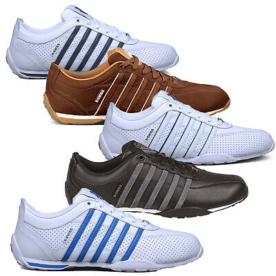 K-Swiss Arvee Mens Trainers Or Classic Iconic Leather Court Shoes Clearance Sale