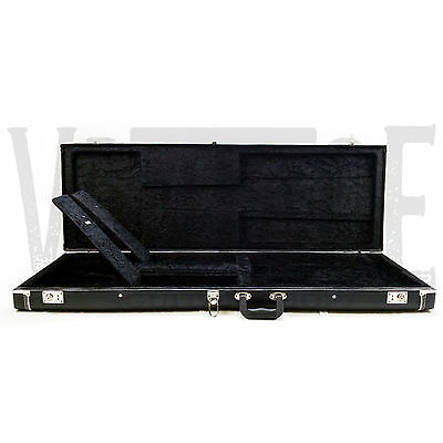 - Pro Series Precision Bass Electric Classic Bass Guitar Hard Case - Bad Lock
