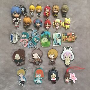 Anime Character Keychains/Rubber straps/Mini Figures