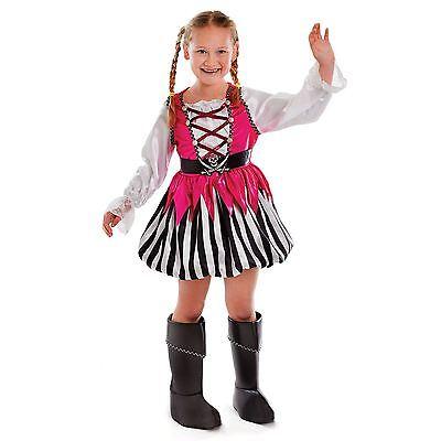 Kinder Tolle Piraten Kostüm Mädchen Seeräuber Buch Woche Tag Kostüm Outfit