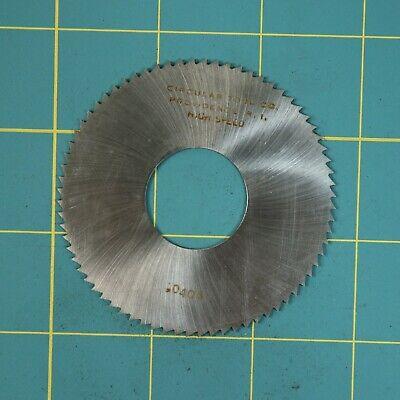 1one Slitting Slotting Saw Blade 0.0405 X 2-34 Hss Machinist Cutting Tool