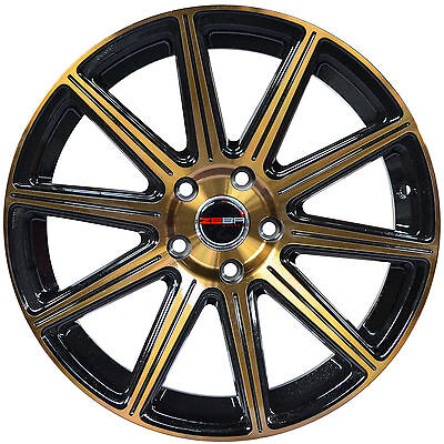 4 GWG Wheels 20 inch Bronze MOD Rims fits HONDA ACCORD SEDAN V6 2008 - 2018