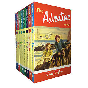 Enid-Blytons-Adventure-series-8-Books-Set-Collection-Childrens-Classic-Books-BN