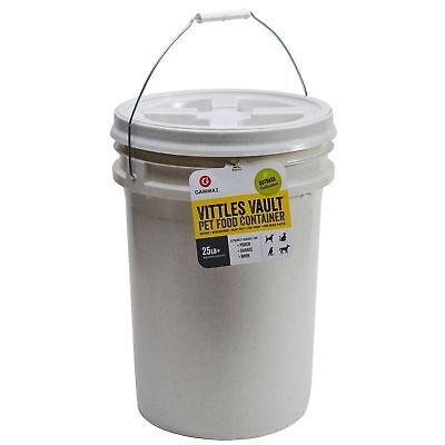 Gamma Vittles Vault Storage Container - Gamma2 Vittles Vault 25 lb Airtight Bucket Container for Food Storage, Food