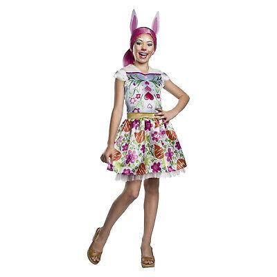 Girls Enchantimals Bree Bunny Dress Ears Headband Halloween Costume Child S M (Bunny Costume For Girls)