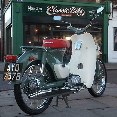 1963 Honda C100 Classic Vintage Rare Collectors Condition Enjoy L@@King at Video