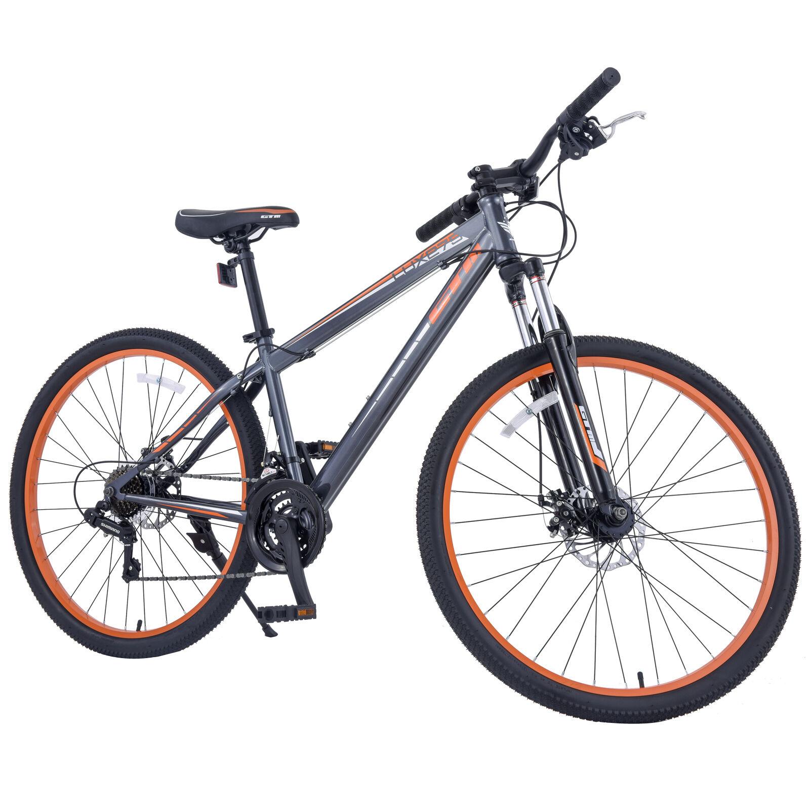 21 speed 27 5 men 39 s mountain bike shimano hybrid bicycle. Black Bedroom Furniture Sets. Home Design Ideas
