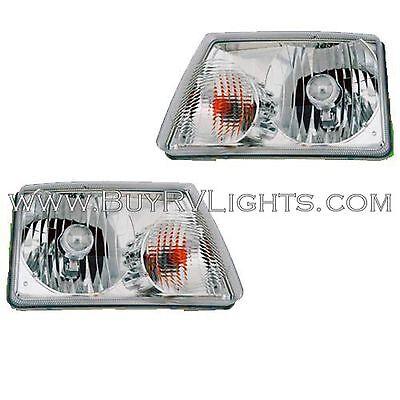 WINNEBAGO VISTA 2010 2011-2013 PAIR HEAD LAMPS HEADLIGHTS FRONT LIGHTS RV