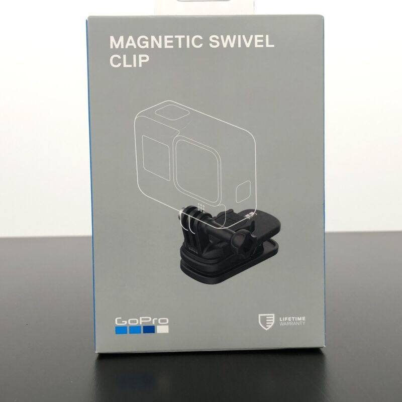 GoPro Magnetic Swivel Clip - Official GoPro Accessory - NEW SEALED