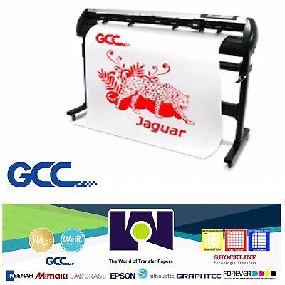 Gcc Jaguar V Lx Vinyl Cutter For Sign Htv J5-101lx 40 101 Cms Free Shipping