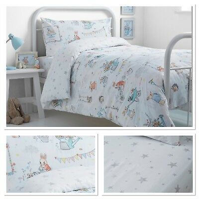 Bedlam Billy Bunny Tea Party Children's Kids Duvet Cover Set Bedroom Range