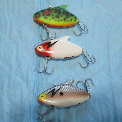 B/&L Paul Browns SD-09 Soft Dine Black Orange 3//8oz Fishing Jerkbait Lure