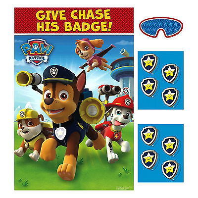 Paw Patrol Party Games (Paw Patrol PARTY GAME POSTER Decorations Activity for 2 to 8)