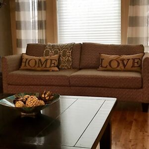 modern condo size couch for sale approx. 6.7'L x 2.3' H x 3'D