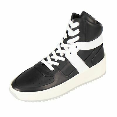 Basketball-high-top-sneakers (NIB FEAR OF GOD Black/White Basketball High-Top Sneakers Shoes 9/39 $1000)