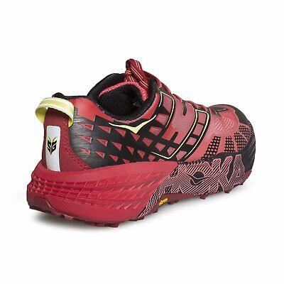 Hoka One One Womens Speedgoat 2 Dubarry / Chili Pepper Pink Running Trainers 8
