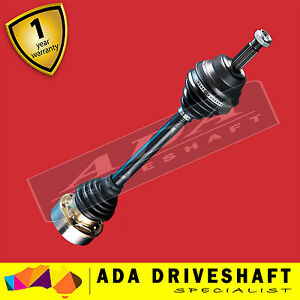 2 New CV Joint Drive Shaft for Volkswagen Transporter T4 94-04 (Pair)