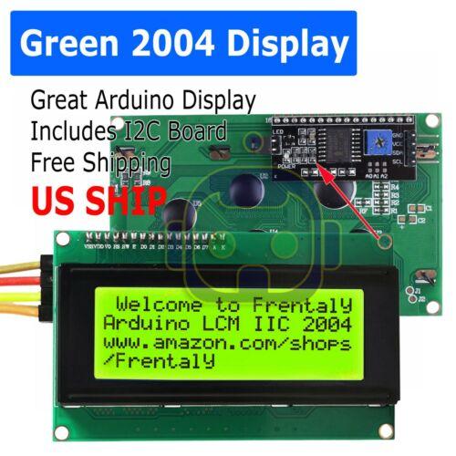 2004 204 20X4 Green LCD Serial Character Module Display IIC/I2C/TWI Arduino kit