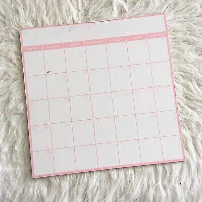 Horizon Group Pink Whiteboard Calendar