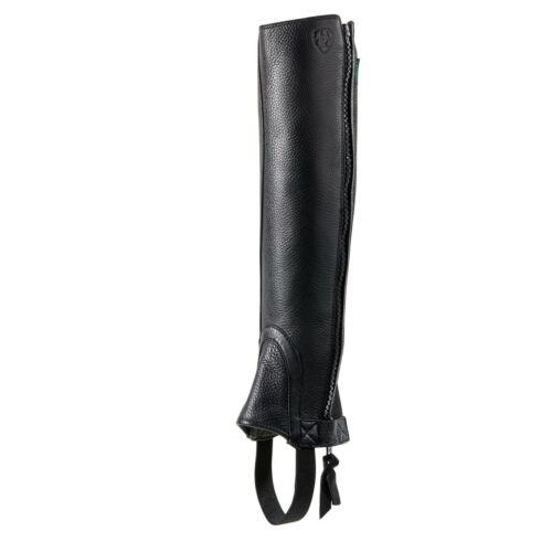 Ariat Breeze Half Chap - Black - All Sizes