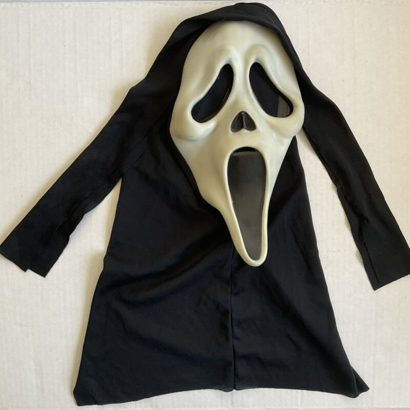 Scream Ghost Face Mask Easter Unlimited Halloween Scary Hood Glows